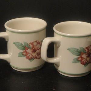 Homer Laughlin China Cups